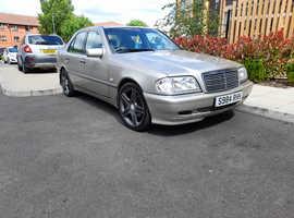 Mercedes C250 ELEGANCE TD AUTO, 1998 (S) Gold Saloon, Manual Diesel, 141,802 miles