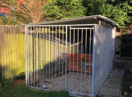 Galvanised Steel Dog Run 200X400cm