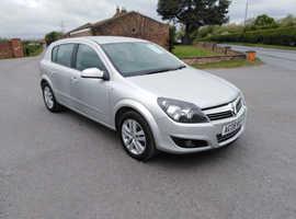 Vauxhall Astra, 1.6 sxi 2008 (08)  Petrol, 78,000 miles