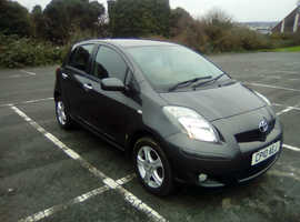 Toyota Yaris, 2010 (10) Grey Hatchback, Manual Petrol, 39,500 miles