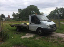 Transit  mk7 recovery truck low miles