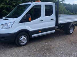 2016 Ford Transit double cab tipper