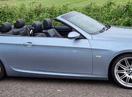 BMW 3 Series, 2008 (08) Blue Convertible, Manual Petrol, 111,141 miles