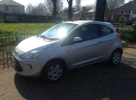 FORD KA, 2009 REG, MOT, LOW MILEAGE 72,000 MILES, FULL HISTORY, ONLY £30 A YEAR TAX & NEW CAMBELT