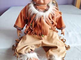 Baby squaw doll
