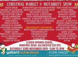 Christmas Market and Motability Fair