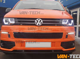VW Transporter T5.1 LED DRL Light Bar Headlights 2010-2015
