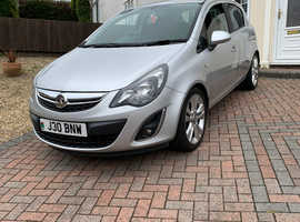 Vauxhall Corsa, 2012 (12) Silver Hatchback, Manual Diesel, 60,000 miles