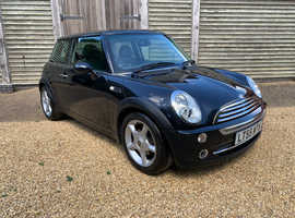 Mini MINI, 2005 (55) Black Hatchback, Manual Petrol, 54,500 miles