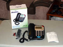 Binatone Lyris 410 Two Piece Corded Telephone