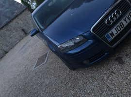 Audi A3, 2008 (08) Blue Hatchback, Manual Diesel, 145,000 miles