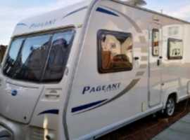 bailry pageant 4 berth caravan
