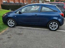 Vauxhall Corsa, 2016 (65) Blue Hatchback, Manual Petrol, 90,000 miles