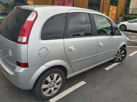 Vauxhall Meriva, 2005 (05) Silver MPV, Manual Petrol, 118,911 miles
