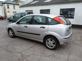 Ford Focus, 2004 (04) Silver Hatchback, Manual Petrol, 77,000 miles