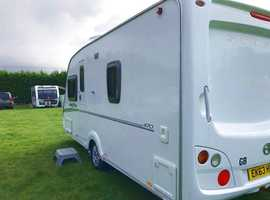 Swift Freestyle 470 4 Berth Fixed Bed