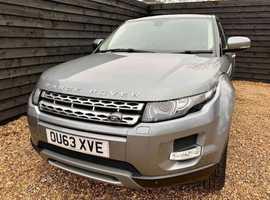 Land Rover Range Rover Evoque, 2013 (63) Grey Estate, Automatic Diesel, 63,500 miles