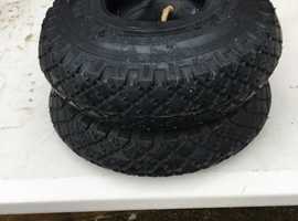 New/Unused Small Duro Turf Tyre 300 x 4