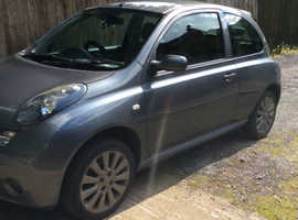 Nissan MICRA SPORT, 2006 (56) grey hatchback, Manual Petrol, 100000 miles