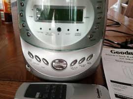 Alarm Clock Radio CD Player For Sale