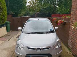 Hyundai i10, 2010 (59) Silver Hatchback, Manual Petrol, 32,000 miles
