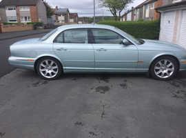 Jaguar Xj, 2004 (04) Silver Saloon, Automatic Petrol, 78,000 miles