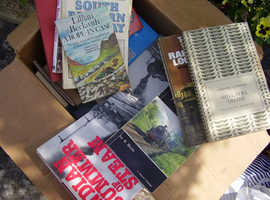 Train Books and magazines 1960 1970s 1980s