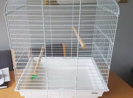 Large bird cage ideal for cockatail