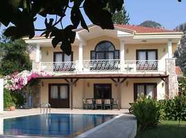 Villa in Dalyan SW Turkey secluded location nr stunning riverside town of Dalyan