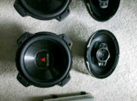 Car sound system Kenwood