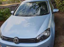 Volkswagen Golf, 2011 (61) Blue Hatchback, Manual Diesel, 40,000 miles