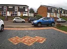 Large driveway to rent