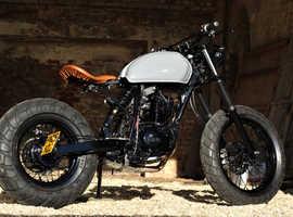Custom Yamaha 125 bobber