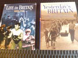 HISTORY / REFERENCE HARDBACK COVER BOOKS