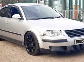 Volkswagen Passat, 2005 (05) Silver Saloon, Manual Diesel, 105,000 miles
