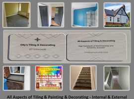 All Aspects of Tiling & Painting & Decorating - Internal & External