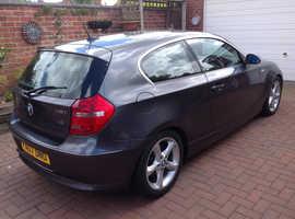 BMW 1 series, 2007 (07) Grey Hatchback, Manual Petrol, 57,795 miles