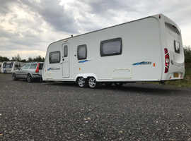2008 lunar freelander 640RS twin axle**Fixed Bed**