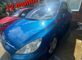 Peugeot 307, 2005 (05) Blue Hatchback, Manual Diesel, 110,534 miles