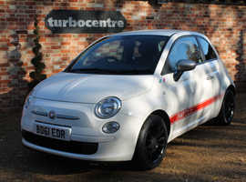 Fiat 500, 2011 (61) White Hatchback,ONLY 44,000 miles, FREE TAX.