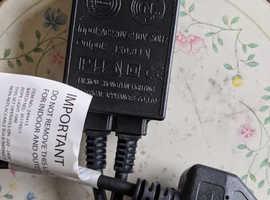 MOTOROLA CHARGER AC POWER SUPPLY SPN4680B MODEL PLM4680A 230-4V 350ma