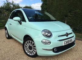 Fiat 500, 2018 (18) Green Hatchback, Manual Petrol, 2,850 miles