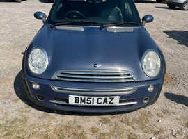Mini MINI, 2004 (54) Blue Convertible, Manual Petrol, 114,540 miles