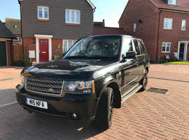 Land Rover Range Rover, 2009 (59) Black Estate, Automatic Diesel, 92,000 miles