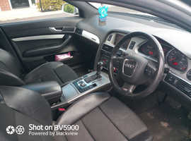 Audi A6, 2007 (07) Silver Saloon, Automatic Diesel, 165,000 miles