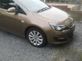 Vauxhall Astra, 2014 (14) Brown Estate, Automatic Petrol, 45,471 miles