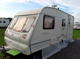 Bailey Ranger 4 berth with end shut off wash room