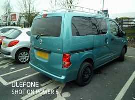 Nissan NV200, 2010 (10) Blue MPV, Manual Diesel, 123 miles fantastic family car