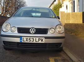 Volkswagen Polo, 2003 (53) Silver Hatchback, Manual Petrol, 136,462 miles