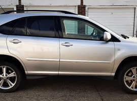 Lexus Rx, 2005 (55) silver estate, Cvt Petrol, 129400 miles